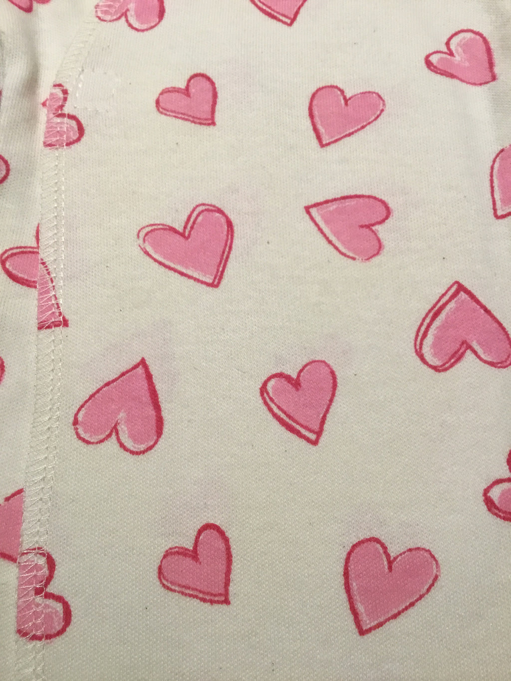 Hearts Organic Preemie Long Shirt
