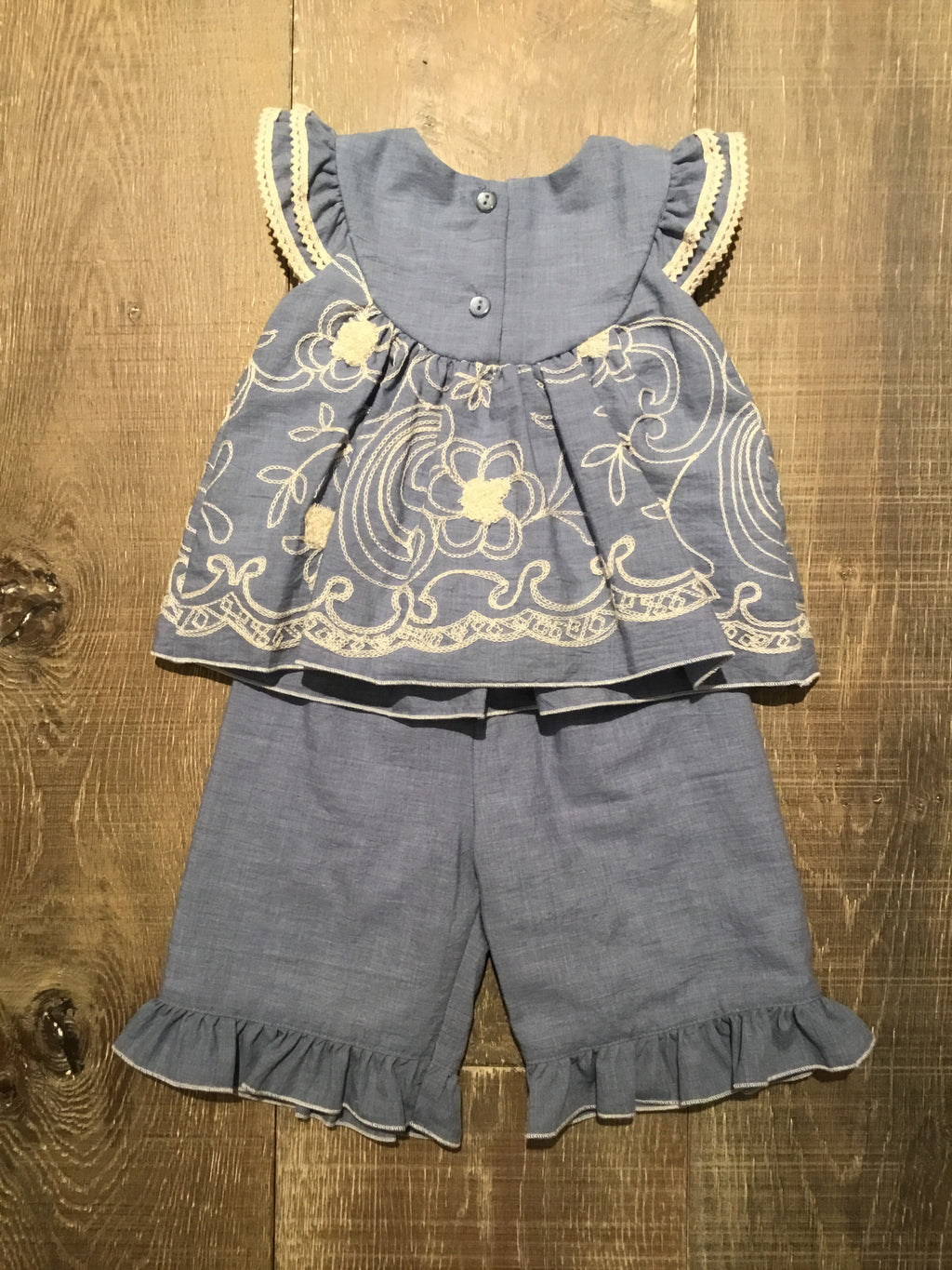 Terilee Top & Bloomers