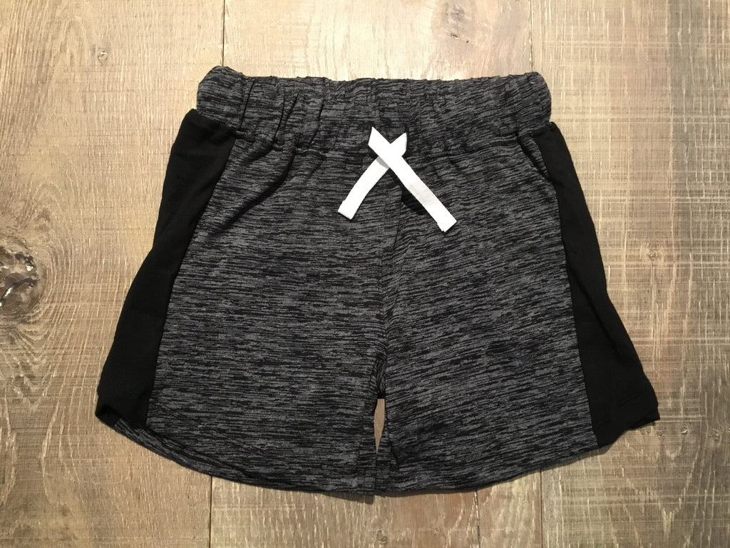 Grey & Black Heather Shorts