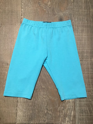 Zaza Teal Capri Leggings