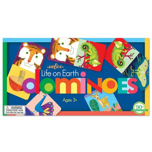 eeBoo Life on Earth Dominoes