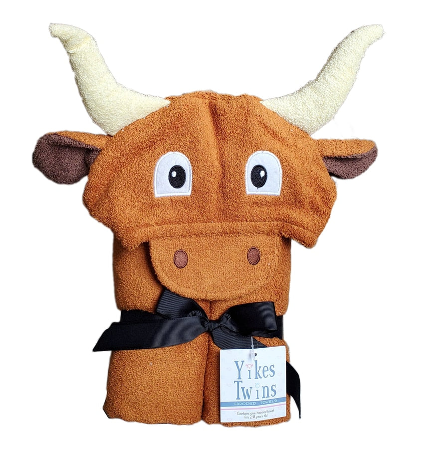 Longhorn Hooded Towel