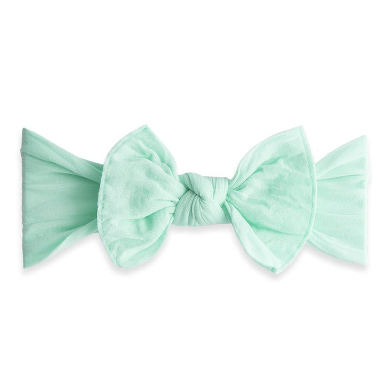 Mint Baby Bling Classic Knot