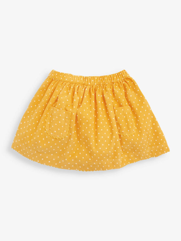 Dotty Cord Skirt
