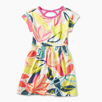 Tradewinds Floral Keyhole Dress