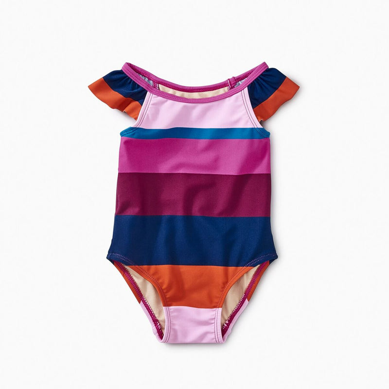 Cabana Stripe One Piece Swimsuit