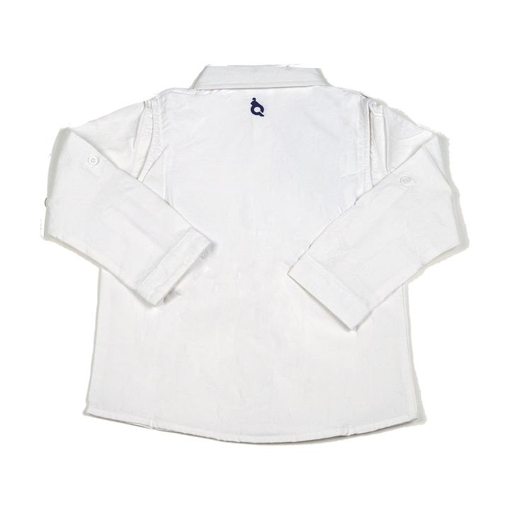 White Long Sleeve Ranch Shirt
