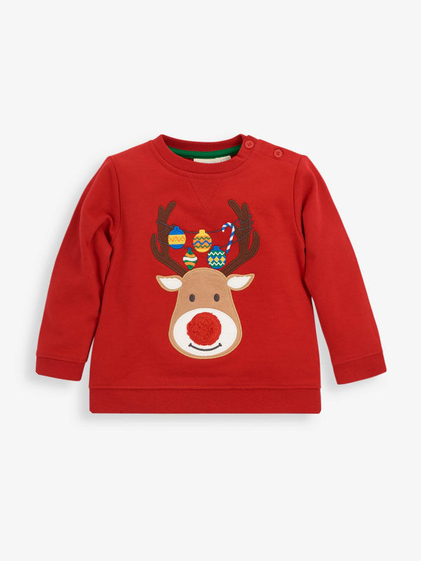 Red Reindeer Sweatshirt