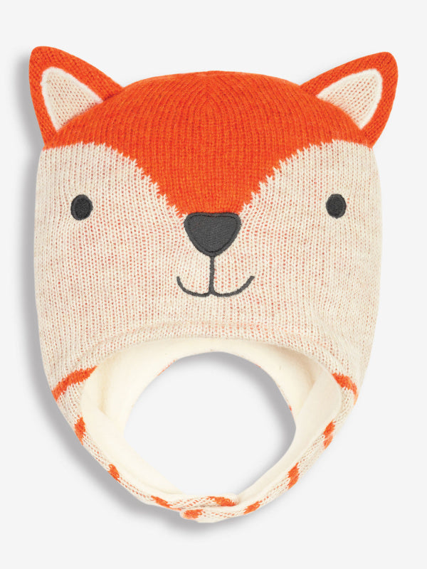 Fleece Lined Fox Hat