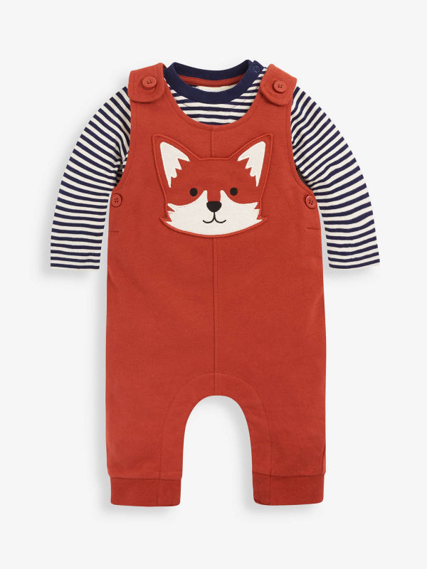 Fox Dungaree Set