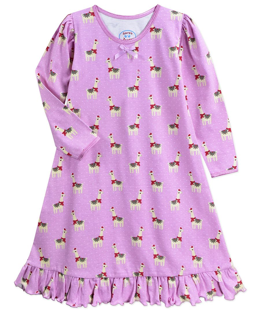 Happy Llama LS Night Gown