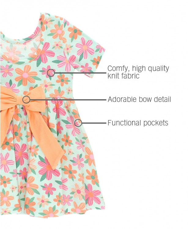 Spring Fling Twirl Dress