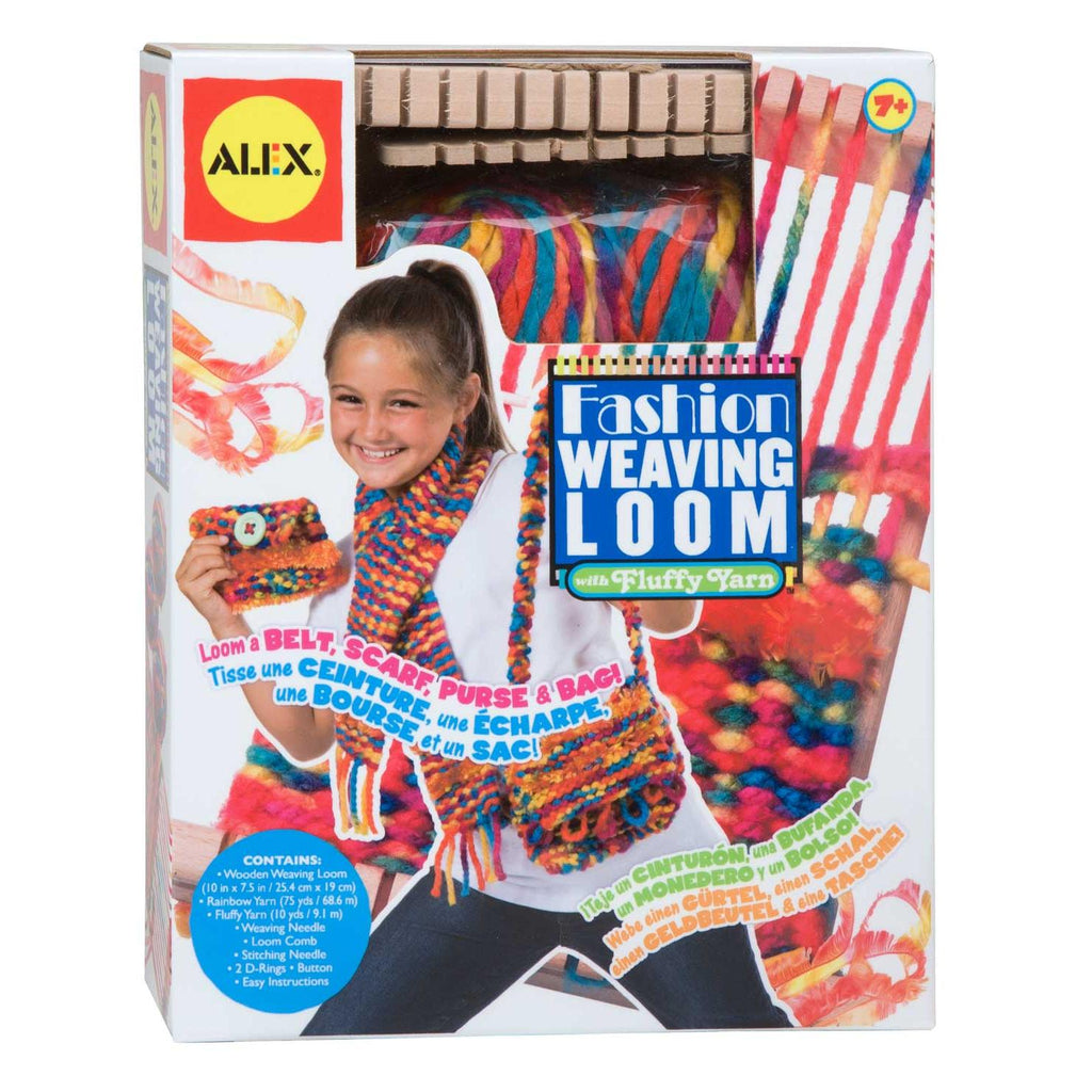 Fashion Weaving Loom with Fluffy Yarn