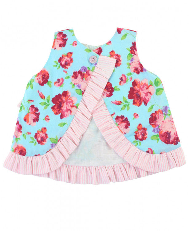 Life is Rosy Bow-Front Swing Top & Bloomers