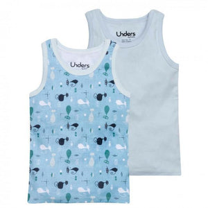 Unisex Cotton Tank Tops - 2 Pack