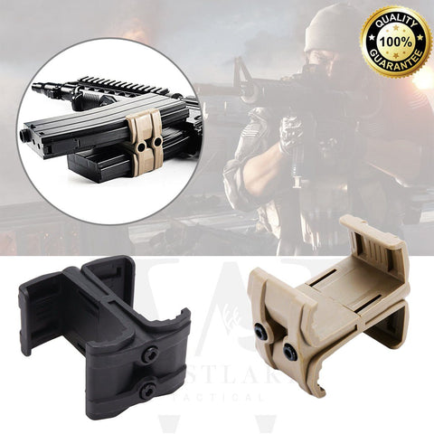 Tactical Magazine Coupler Parallel Connector Link Clamp Double Holder Mount 5.56 - West Lake Tactical