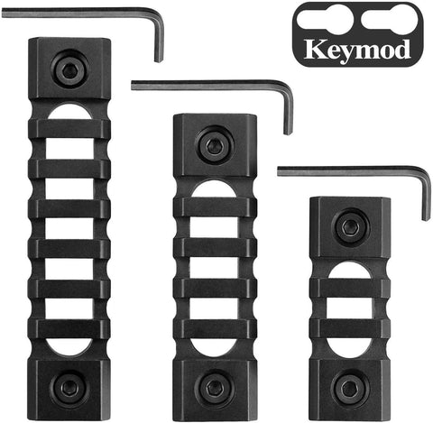 Lightweight Picatinny 3-Slot,5-Slot,7-Slot Rail Section Keymod Handguard Mount