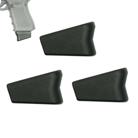 Pack of 3 Glock Compatible (+2) 9mm Magazine Extensions - West Lake Tactical