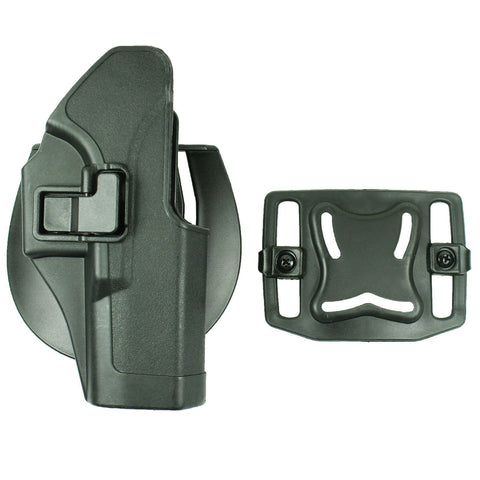 Quick Tactical Right Hand Paddle Pistol Holster for Glock 17 22 31 New - Black - West Lake Tactical