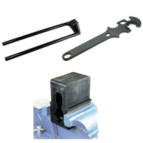 .223 5.56 Gun Tool Set- Armoreror's Wrench Upper Vise Block Delta Ring Wrench - West Lake Tactical