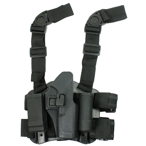 Drop Leg Holster CQC Pistol Serpa Right Hand Pouch For Glock 17 19 22 23 31 32 - West Lake Tactical