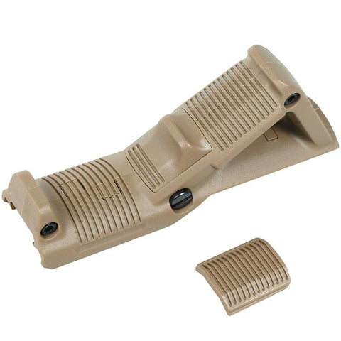 Tactical Angled Foregrip Hand Guard Front Grip for Picatinny Rail - Dark Tan - West Lake Tactical