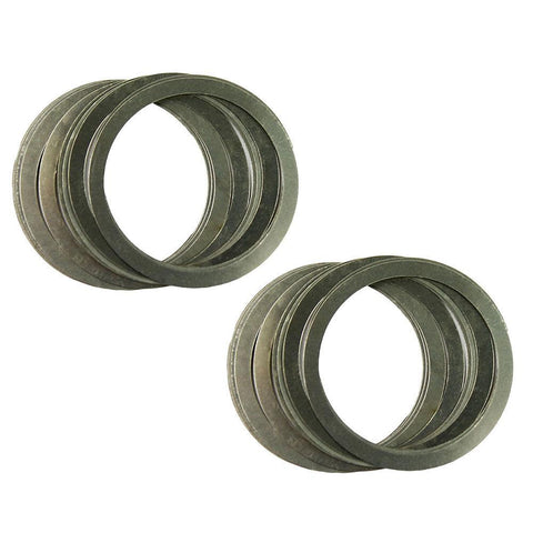 20 Pcs Free Float Rail Nut Washer Shims for Adjustment and Align Stainless Steel - West Lake Tactical