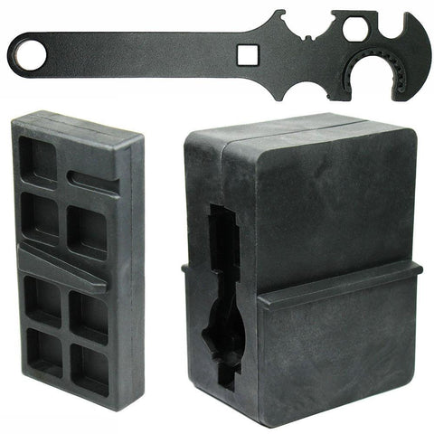 Gun Smithing Tools Combo Set Upper and Lower Receiver Vise Block and Wrench - West Lake Tactical
