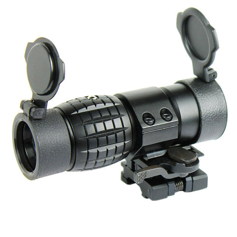 3X Magnifier Scope with FTS Flip to Side Mount Fits Holographic and Reflex Sight - West Lake Tactical