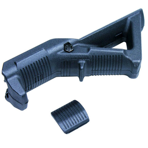 Angled Foregrip Hand Guard Front Grip for Picatinny / Weaver Rail - Black