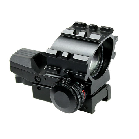 Tactical Holographic Red Green 4 Reticles Reflex Dot Sight with 20mm Rail Mount - West Lake Tactical