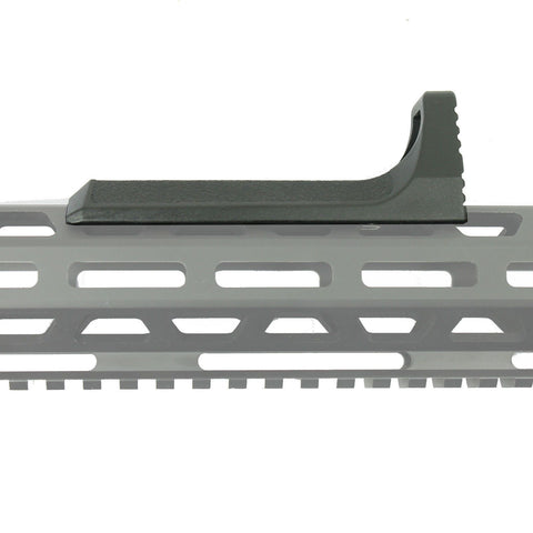Tactical Grip Foregrip Handstop Fits M-LOK KeyMod Handguard Polymer Black - West Lake Tactical