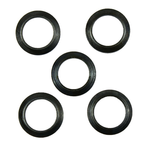 Crush Washer for .223 5.56 1/2x28 HIGH QUALITY Black - 5 PCS Pack - West Lake Tactical