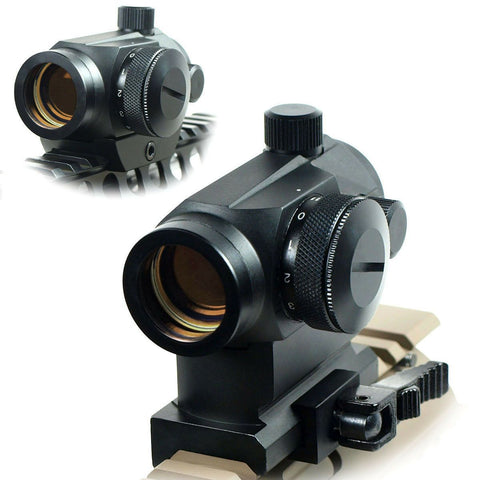 Quick ReleaseTactical Reflex Red Green Dot Sight Scope with Dual Rail Mounts QR - West Lake Tactical
