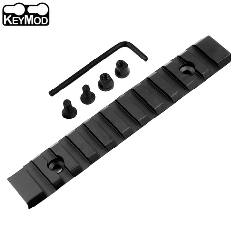 Keymod 11 Slot 5 inch Picatinny Weaver Rail Handguard Section Aluminum