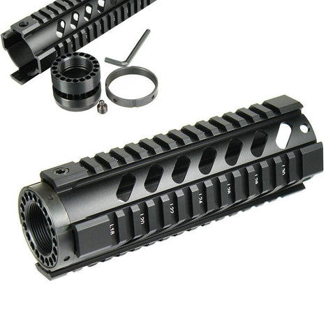 "6.7"" Long Free Float Handguard Picatinny Quad Rail, .223/5.56 - West Lake Tactical"