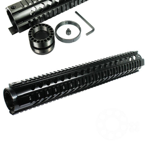 "15"" Long Free Float Quad Rail Handguard .223/5.56 - West Lake Tactical"