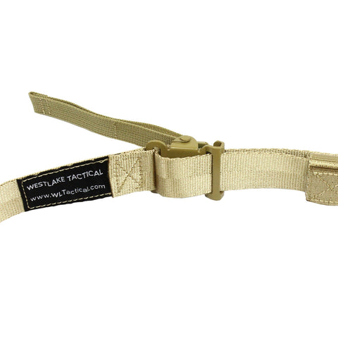 WestLake Wide Padded Quick Adjust QD 2 point Rifle Sling with Push-on QD Swivel