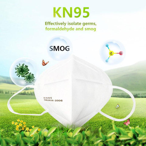 10 PCS KN95 RESPIRATOR FACE MASKS - SAME DAY RUSH SHIPPING