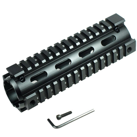 "6.7"" Handguard Picatinny Quad 20mm Rail Mount for Rifle Hunting - West Lake Tactical"