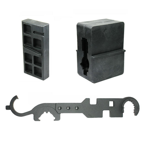 Upper & Lower Receiver Vise Block Armorer Wrench for .223 5.56 Rifle Repair - West Lake Tactical