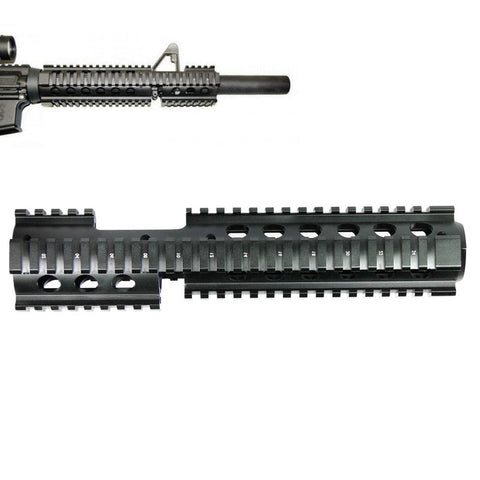 Picatinny QUAD RAIL Handguard with Forward Extension