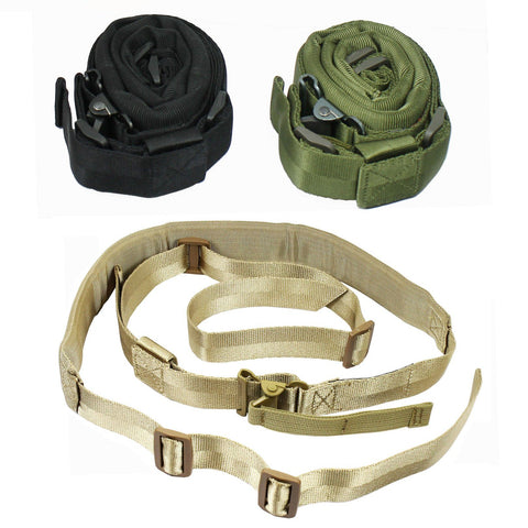 West Lake Padded Quick Adjust QD 2 point Rifle Tactical Sling 3 Color