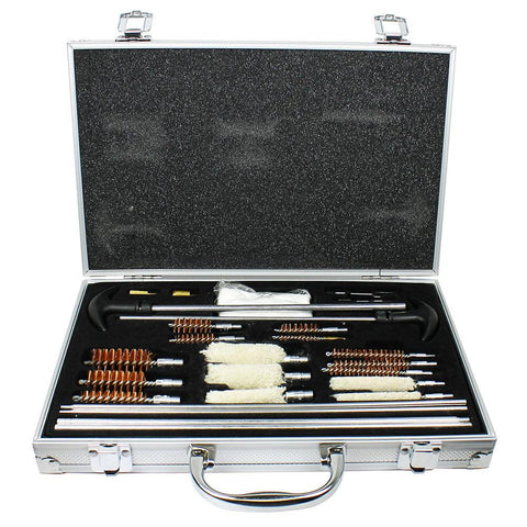 103 PCS Universal Pro Gun Cleaning Kit for Pistol Rifle Shotgun /w Carrying Case