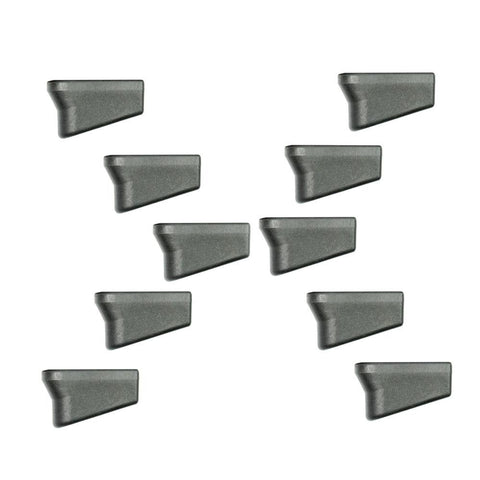 Pack of 10 Glock Compatible Plus 2 9mm Magazine Extensions - West Lake Tactical