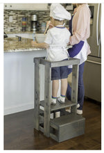 Child Step Stool - TeddyGrams Tot Towers, Kitchen Helper, Safe Step Stool, Child Step Stool