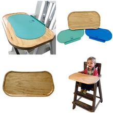 Wooden Highchair Tray