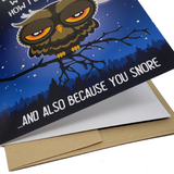 Lie Awake At Night - Dirty Card - Naughty Adult Greeting Card - Sleazy Greetings
