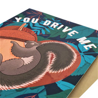 You Drive Me Fucking Nuts - Dirty Card - Naughty Adult Greeting Card - Sleazy Greetings