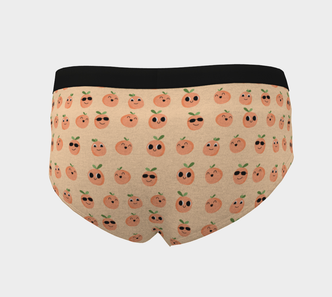 Just Peachy Cheeky Briefs